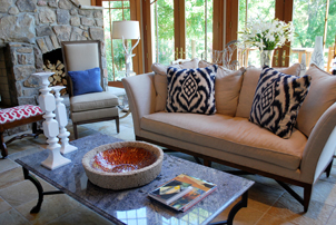 Virginia Interior Designer Living Room